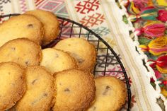 Orange Chocolate Shortbread Cookies.  http://cindyduffield-cookingthebooks.co.uk/orange-chocolate…ortbread-cookies/