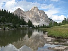 """46° 36' 39.89"""" N  12° 0' 35.49"""" E. Riflessi nel parco di Fanes. Photo taken in Mareo, South Tyrol, Italy by Luca Rigato http://www.panoramio.com/user/1771438?with_photo_id=14748463"""