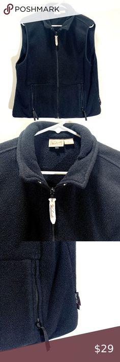 St Johns Bay Womens Fleece Vest Blue NWT Sizes S M L XL SHIPS FAST SHIPS FREE!
