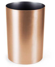 Metalla 4.5 Gallon Polypropylene Trash Can