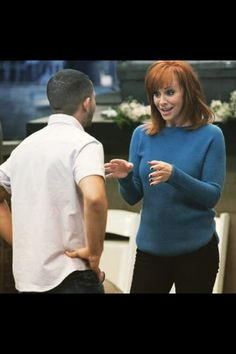 'Tucker' and Reba on Baby Daddy