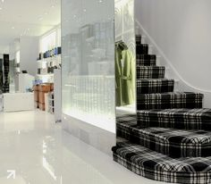 43 Affordable Black And White Stairs Carpet Design Ideas Stair Runner Carpet, Grey Carpet Hallway, Trendy Bedroom, Home, Carpet Design, Dark Bedroom Furniture, Tartan Carpet, Hotel Carpet, Bedroom Carpet