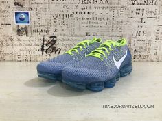 finest selection a7018 d79f3 Nike 2018 Pan Zoom FLYKNIT Airmax 2018 Knit Woven Running Shoes Bubbles  FLYKNIT Blue Yellow Men