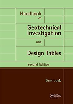 14 Best GEOTECHNICAL Must-Have Books images in 2019   Books