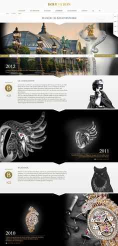 Beautiful interactive timeline : beautiful site overall!