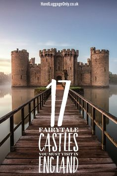 England has some of the most spectacular castles in the world! Yes, I'm biased but I do love how there are literally hundreds of castles dotted around our cities, coasts and countryside - they are
