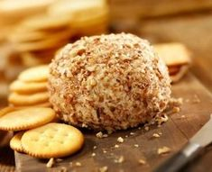 Cheese Ball... with the right low carb crackers