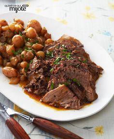 Bœuf aux légumes du marché à la mijoteuse #recette