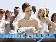 Bridezillas... this show is my guilty pleasure I love to hate on these women and I am shocked that someone actually will marry them!!!