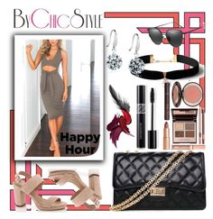 """Bottoms Up: Happy Hour"" by bychicstyle on Polyvore featuring Lady Godiva, Charlotte Tilbury and Christian Dior"