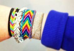 Simple Friendship Bracelets