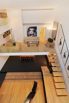 Big fan of pop art........Unique 4-Story House Built In The 60s | DigsDigs