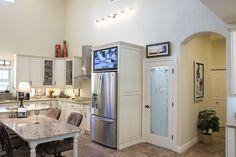Morton Buildings home interior in New Smyrna Beach, Florida.