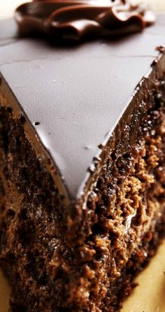 Homemade Chocolate Cake ~ A very simple recipe... It was really most, soft and wonderfully delicious.
