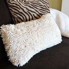 Home is where the z's are.Turn Cheap Dish TOWELS, Shower Floor Mats...into Amazing Pillows!! I have 4 well made pillows and have thought these very things would be amazing! And one...or two :) of a kind:)