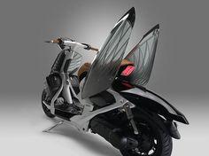 Yamaha Scooter Concept parece uma Vespa - Assuntos Criativos