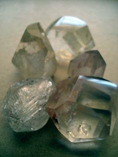 raw, uncut stones