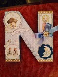 Letras decoradas. Altered letter