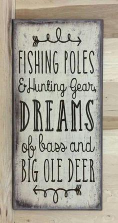 Fishing and deer