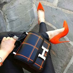 🔶🔶🔶#Hermes #Louboutin #StyleDefined Hermes Handbags, Hermes Bags, Beautiful Handbags, Fashion Bags, Fashion Outfits, Womens Fashion, My Bags, Purses And Bags, Bag Accessories
