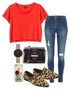 """""""Sans titre #737"""" by el-khawla ❤ liked on Polyvore featuring Daniel Wellington, Monki, River Island and Marc Jacobs"""