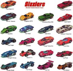 Hot Wheels Sizzlers