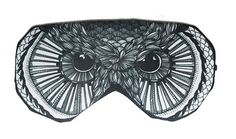 Hey, I found this really awesome Etsy listing at https://www.etsy.com/listing/177788427/hawk-bird-sleep-eye-mask-sleeping-mask - sleep mask designer eye covering slumber rest relaxation darken