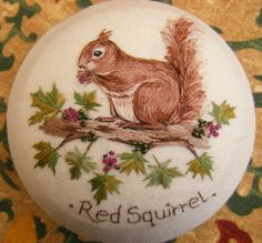 Jenny McWhinney Designs — Red Squirrel