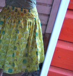 Summer Skirt Part 2: Creating the waistband