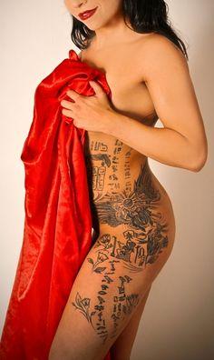 egyprtian heiroglyphics tattoo