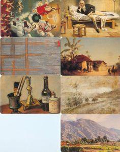 7 Phonecard / Tarjeta Telefonicas Venezuela Cantv  Galería de Arte Nacional