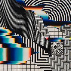 Felipe Pantone | http://www.felipepantone.com | Valencia, Spain | here@felipepantone.com #outsidelands #bonnaroo #trippy #psychedelic #geometric #acid #shapes #blurry #drugs #spain #valencia