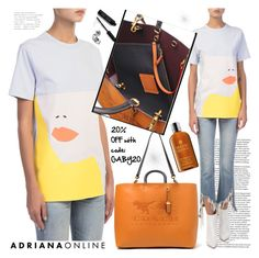 """ADRIANA ONLINE: Casual Style"" by gaby-mil ❤ liked on Polyvore featuring Bobbi Brown Cosmetics and Molton Brown"