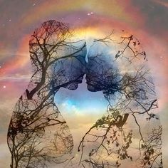 Feeling your twin flame: Twin flames are considered to be the half souls of each other. How do you know you have met your twin flame? Nature, Photo, Divine, Flame Art, Art, Pictures, Twin Flame Art, Beautiful Art, Love Art