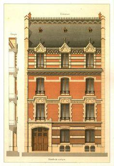 Details of Victorian Architecture Edwardian Architecture, Neoclassical Architecture, Architecture Drawings, Historical Architecture, Architecture Details, Victorian Buildings, Old Buildings, Building Facade, Building Design