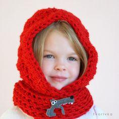 Ravelry: Basic hooded cowl pattern by Ivana Jackova