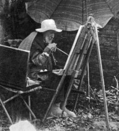 Renoir doing his best work at the end of his life with Rhematoid Arthritis- so moving