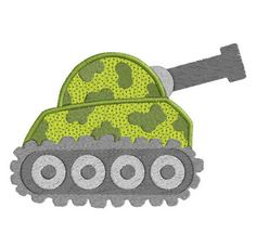 Military Vehicles APPLIQUE Machine Embroidery by SewWithLisaB