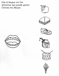 5 Senses Worksheet for Kindergarten Sensory Images Worksheets Printable Preschool Worksheets, Free Preschool, Kindergarten Worksheets, Worksheets For Kids, Preschool Activities, Five Senses Kindergarten, Kindergarten Sensory, 5 Senses Preschool, Five Senses Worksheet