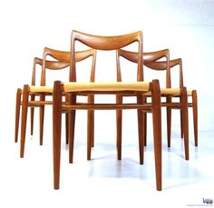 AreaNeo   Rastad & Relling Bambi chairs 1954 - Modern Furniture   Gustav Bahus & eft.