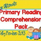 A 70 page pack of Reading Comprehension printables that can accompany ANY book.  Just copy them and they're ready to go whenever you need an extra ...