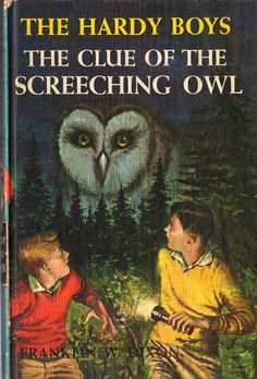 Spooky thriller SCREECHING OWL!