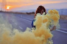 Smoke Bomb Photography examples 4