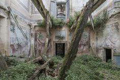 Mirna Pavlovic Documents The Decline of Grand European Villas #inspiration #photography