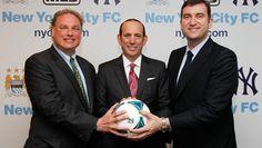 Major League Soccer Announces New York  Expansion Team: New York City Football Club - @Major League Soccer #NYCFC