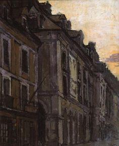 Walter Richard Sickert, 'Les Arcades de la Poissonnerie, Dieppe' c.1900