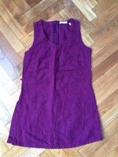 Marco Pecci 100% Linen Purple long Top Blouse Size EU 36 #Marcopecci #Blouse