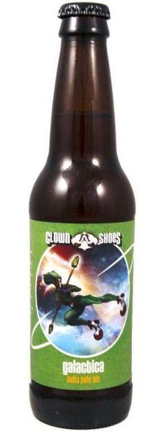 Clown Shoes Galactica IPA: Exciting Beer from USA - http://www.beerz.co.nz/beers-in-new-zealand/clown-shoes-galactica-ipa-exciting-beer-from-usa/ #beer #nzbeer #beernz #NewZealand