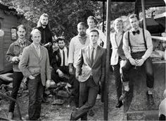 Big fan of this hipster groomsmen possibility.