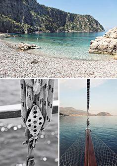 Varios paisajes de Turquía